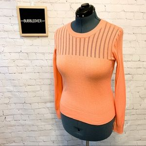 ✨3/$20✨ Coral Casual Long Sleeve Top